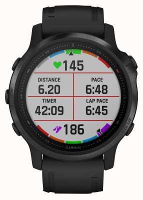 Garmin Fenix 6s pro | smartwatch multisport | cinturino in caucciù nero 010-02159-14