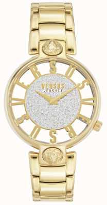 Versus Versace | Kirstenhof femminile | braccialetto placcato oro | quadrante glitter VSP491419