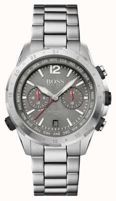 Boss | nomade | cronografo | bracciale in acciaio | quadrante grigio | 1513774