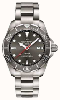Certina | ds action | sub powermatic 80 | titanio | C0324074408100
