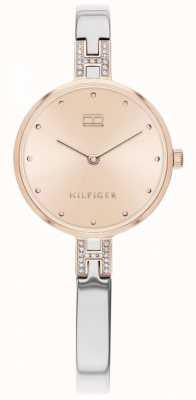 Tommy Hilfiger Kit | bracciale in acciaio inossidabile quadrante oro rosa | 1782138