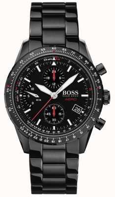 Boss | aero | cronografo nero | orologio da polso nero | 1513771