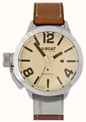U-Boat Classico tungsteno 50 come quadrante 2 panna 8091
