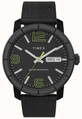 Timex | mod uomo 44mm | cinturino in nylon nero | quadrante nero | TW2T72500