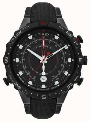 Timex | alleato 45mm | cinturino in tessuto nero | quadrante nero | TW2T76400