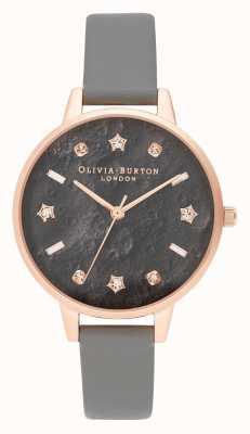 Olivia Burton | donne | celeste | cinturino vegan grigio londra | OB16GD55