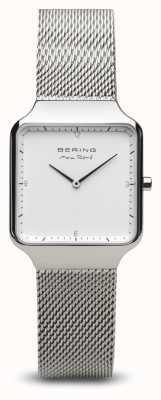 Bering | max rené | argento lucido da donna | bracciale a maglie d'acciaio | 15832-004