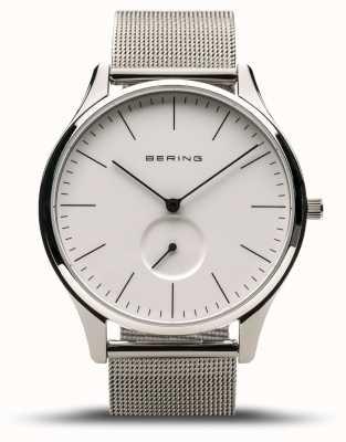 Bering | classico | argento lucido da uomo | bracciale a maglie d'acciaio | 16641-004