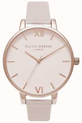 Olivia Burton | donne | quadrante blush | cinturino in pelle arrossita OB16BD95