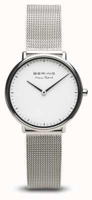Bering   max rené   argento lucido da donna   bracciale a maglie d'acciaio   15730-004