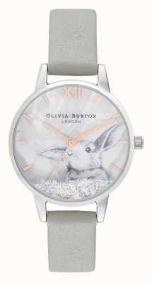 Olivia Burton | donne | paese delle meraviglie invernale | coniglietto di cristallo globo di neve | OB16WL86
