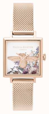 Olivia Burton | donne | giardino incantato | Ape 3d | maglia in oro rosa | OB16EG152