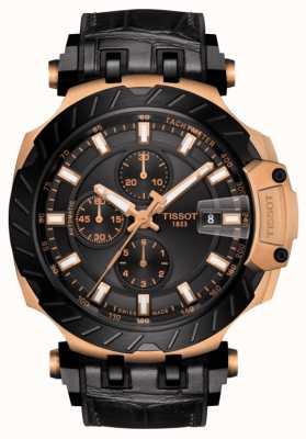 Tissot | T-Race | cronografo automatico | cinturino in caucciù nero | T1154273705101