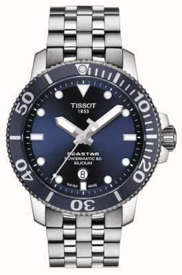 Tissot | seastar 1000 powermatic | bracciale in acciaio inossidabile T1204071104101
