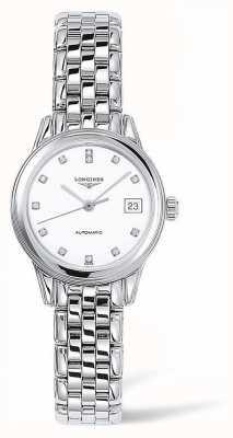 Longines Ammiraglia | cinturino in argento | faccia bianca | L42744276