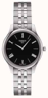 Tissot | tradizione femminile | bracciale in acciaio inossidabile quadrante nero T0632091105800