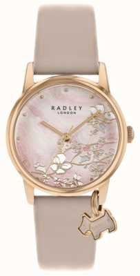 Radley Floreale Botanico | cinturino in pelle nuda | quadrante floreale rosa | RY2884