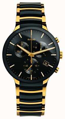 RADO Cronografo Centrix xl in ceramica high-tech color oro R30134162