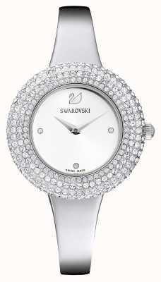 Swarovski | cristallo rosa | bracciale in acciaio inossidabile quadrante bianco | 5483853