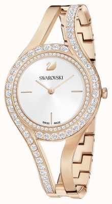 Swarovski | eterno | bracciale in acciaio oro rosa | set di cristalli | bianca 5377576
