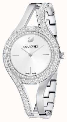 Swarovski | eterno | bracciale in acciaio inossidabile set di cristalli | bianca 5377545