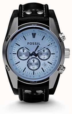 Fossil Orologio cronografo quadrante blu da uomo CH2564
