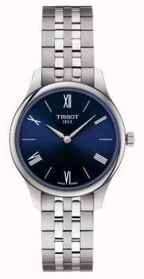 Tissot | tradizione | bracciale da donna in acciaio inossidabile quadrante blu | T0632091104800
