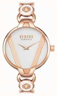 Versus Versace | saint germain | acciaio inossidabile tono oro rosa | quadrante bianco VSPER0419