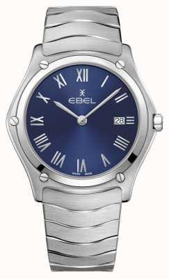 EBEL | classico sportivo maschile | bracciale in acciaio inossidabile | quadrante blu 1216420A