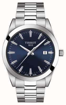 Tissot | gentiluomo | bracciale in acciaio inossidabile quadrante blu | T1274101104100