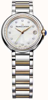 Maurice Lacroix Diamante Fiaba da donna in madreperla bicolore FA1004-PVP23-170-1
