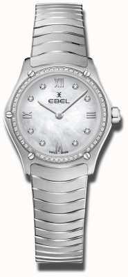 EBEL | classico sportivo femminile | acciaio inossidabile | quadrante con diamanti 1216475A