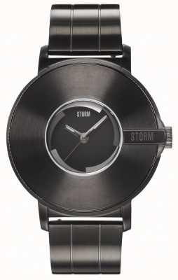 STORM | fotocamera v6 ardesia | edizione limitata | bracciale in acciaio 47463/SL