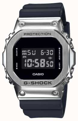 Casio Serie di castoni in metallo G-shock | cinturino in resina nera | digitale GM-5600-1ER
