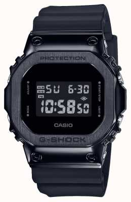 Casio Serie di castoni in metallo G-shock | cinturino in resina nera | digitale GM-5600B-1ER