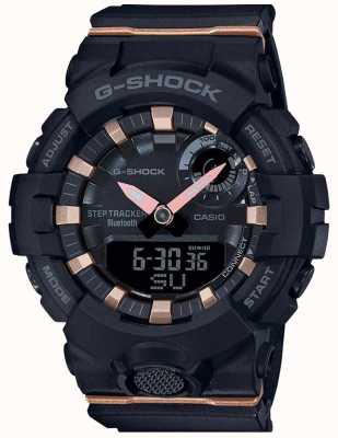 Casio | g-squad g-squad | cinturino in caucciù nero | bluetooth intelligente | GMA-B800-1AER