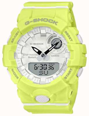 Casio G-shock g-squad | cinturino in caucciù giallo | bluetooth intelligente | GMA-B800-9AER