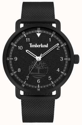 Timberland City lifestyler | cinturino in maglia di acciaio nero quadrante nero | 15939JSB/02MM