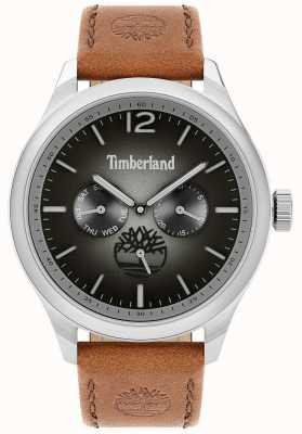 Timberland City lifestyler   cinturino in pelle marrone   quadrante nero   15940JS/13