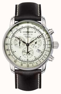 Zeppelin 100 anni | quarzo svizzero | orologio cronografo 8680-3