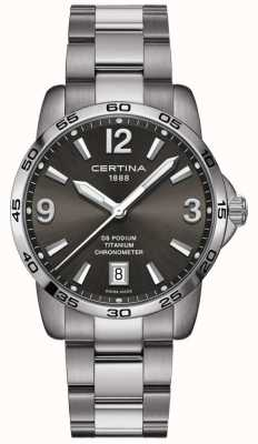Certina | podio ds | 40mm | acciaio inossidabile C0344514408700