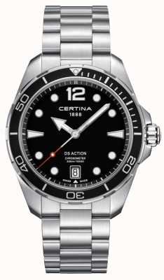 Certina Mens | ds action | cronometro | acciaio inossidabile C0324511105700