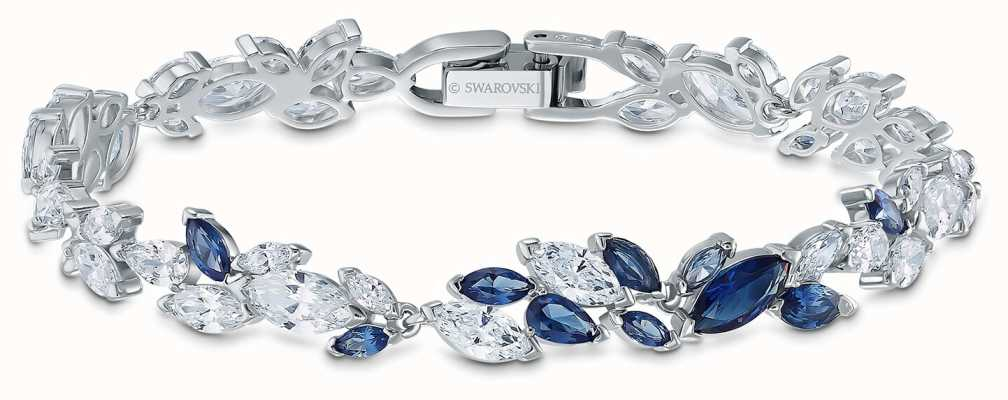 Swarovski | braccialetto Louvre | cristalli blu e bianchi | 5536548