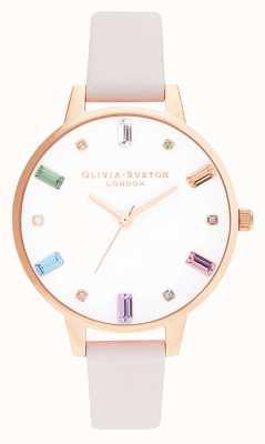 Olivia Burton | donne | fiore arcobaleno | oro rosa | OB16RB22