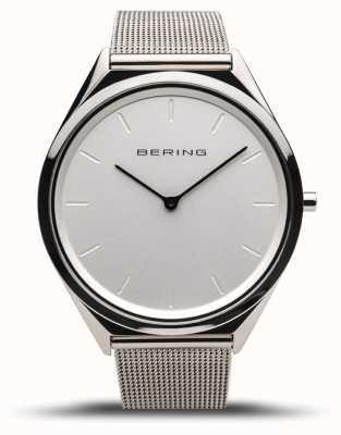 Bering | unisex | ultra-sottile | bracciale a maglie argento lucido | 17039-000