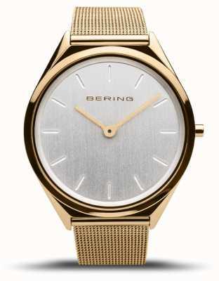Bering | unisex | ultra-sottile | bracciale a maglie d'oro | 17039-334