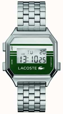 Lacoste Berlino | display digitale | bracciale in acciaio inossidabile 2020137