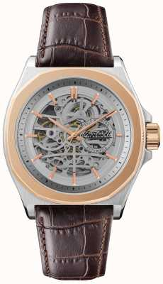 Ingersoll Men's 1892 the orville | automatico | cinturino in pelle marrone I09301B