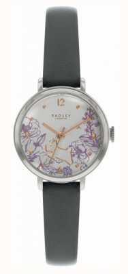 Radley | cinturino in pelle nera da donna | quadrante stampa floreale | RY2979