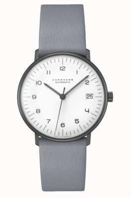 Junghans Max fattura automatica | 38 mm in bianco e nero 027/4007.04